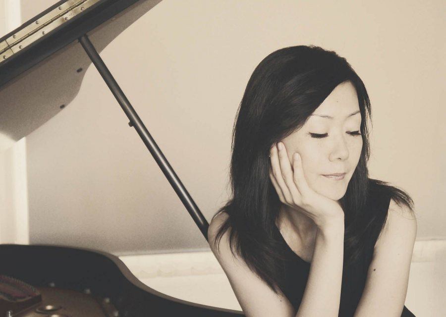 A Sept. 28 performance by pianist Mari Asakawa includes a composition by faculty member Hiroya Miura.