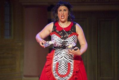 "Sara Juli performs ""Tense Vagina: an actual diagnosis."" (Kristofer Alan Thompson)"