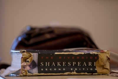 With Shakespeare dominating the presentations at the New Approaches to Early Modern Literature and Culture symposium, it was wise to come prepared. (Phyllis Graber Jensen/Bates College)