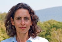 Known for her writing in The New Yorker about the environment, Elizabeth Kolbert gives the Otis Lecture at Bates on Oct. 24. (Nicholas Whitman)