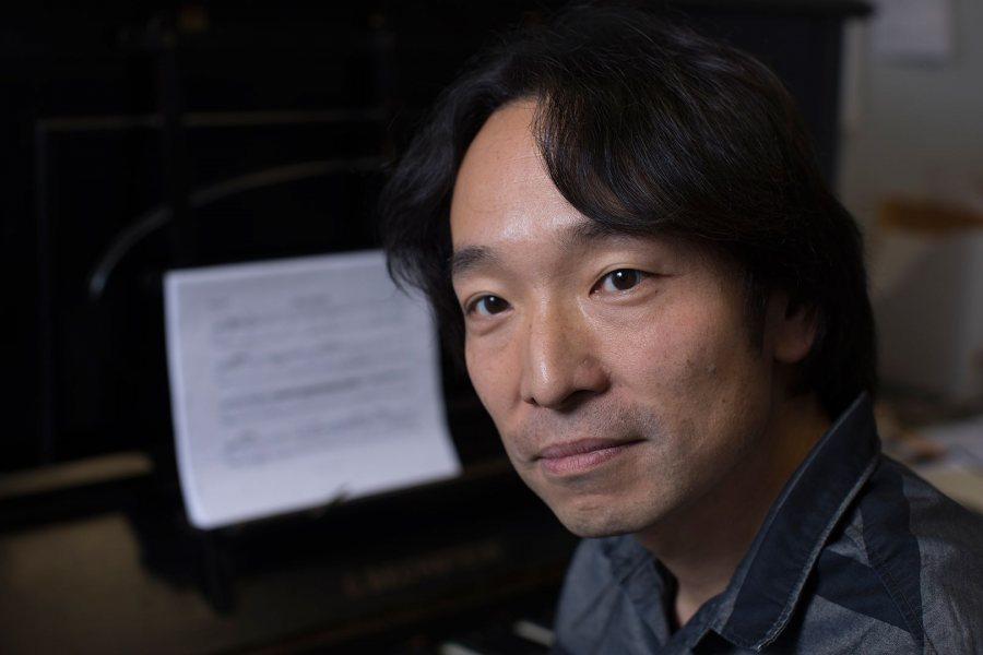 Hiroya Miura, associate professor of music st Bates. (Phyllis Graber Jensen/Bates College)