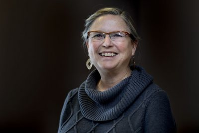 Kathryn Graff Low is acting dean of the faculty and vice president for academic affairs during 2017-18. (Phyllis Graber Jensen/Bates College)