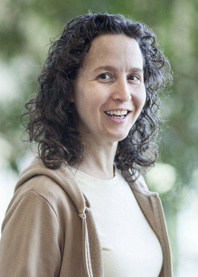 Helen Boucher. (Josh Kucken/Bates College)