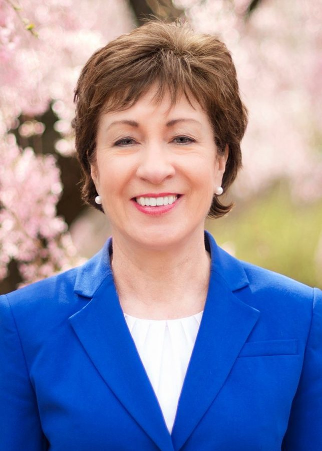 U.S. Sen. Susan Collins will receive an honorary Doctor of Humane Letters degree at Commencement.