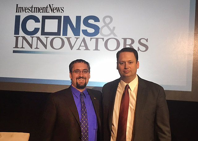 Michael Kitces '99 and Shirl Penney '99 were named financial innovators by Investment News.