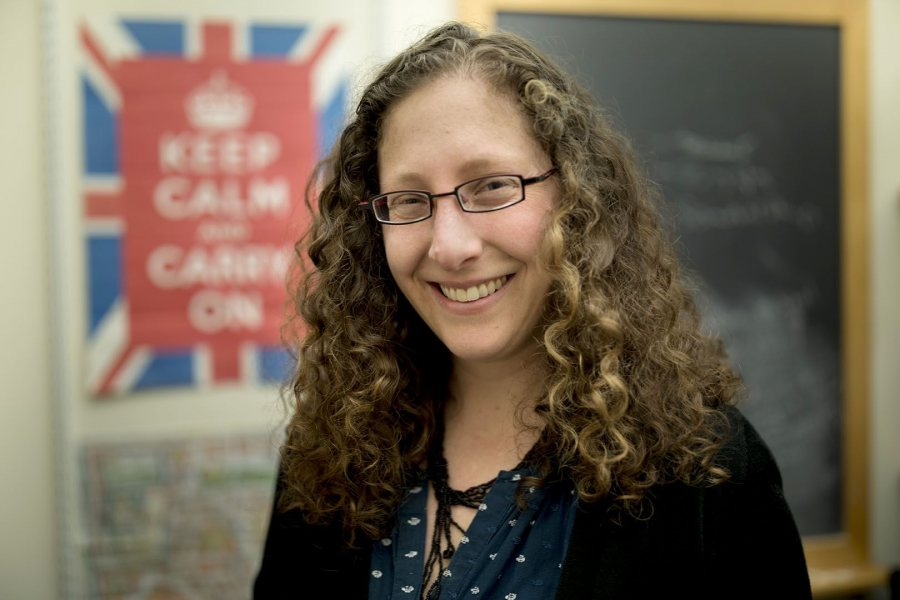 Caroline Shaw has been promoted to associate professor of history at Bates. (Phyllis Graber Jensen/Bates College)