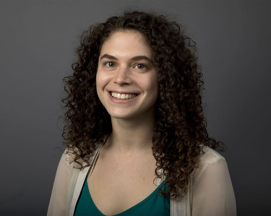 Julia Yankelowitz '17 of the Bronx, N.Y., a sociology major, received an English Teaching Assistant Award for Uruguay. (Phyllis Graber Jensen/Bates College)