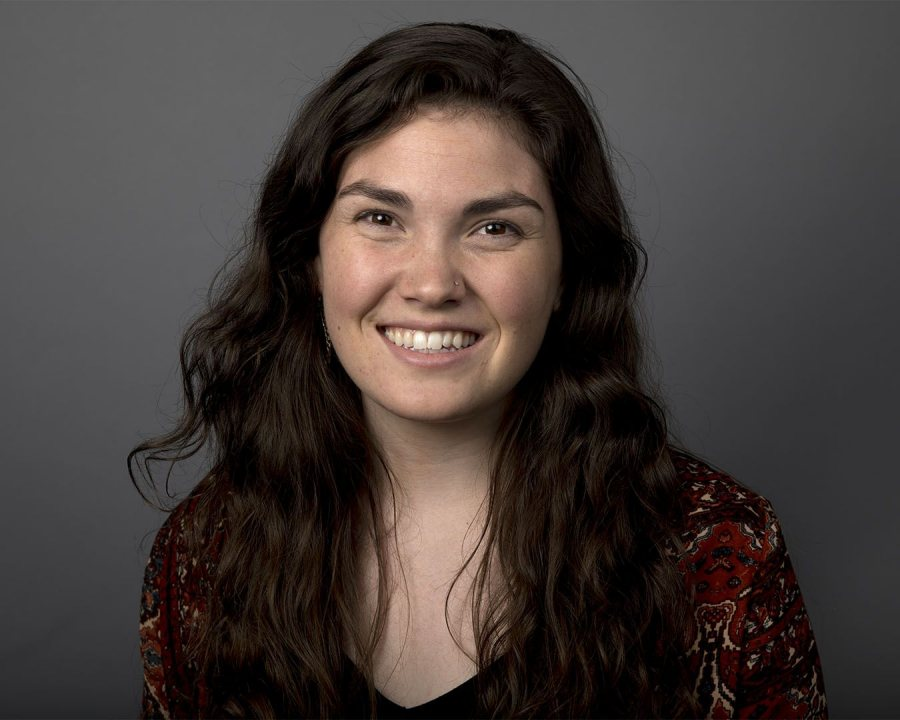 Angeline O'Donnell '17 of Harwinton, Conn., a psychology major, received an English Teaching Assistant Award for Thailand. (Phyllis Graber Jensen/Bates College)