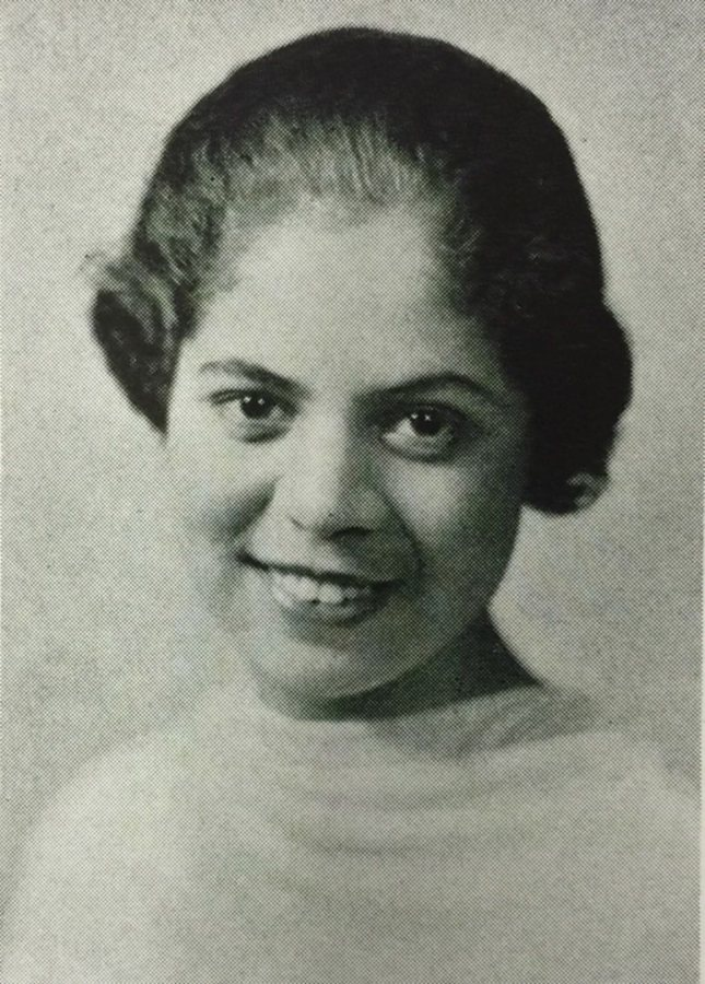 The 1938 Mirror yearbook has this portrait of Ellen Craft Dammond '38.