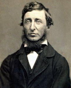 Henry David Thoreau, photographed in 1856 by Benjamin D. Maxham (Public domain via Wikimedia Commons)