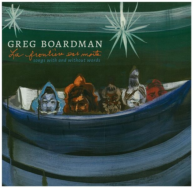 The cover art for Greg Boardman's new album was adapted from an installation by his sister, the late Deborah Boardman.