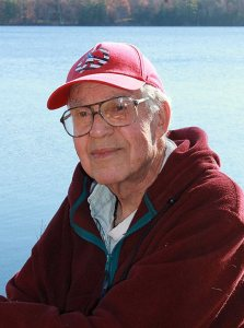 Professor Emeritus of Biology Robert M. Chute is an award-winning Maine poet.