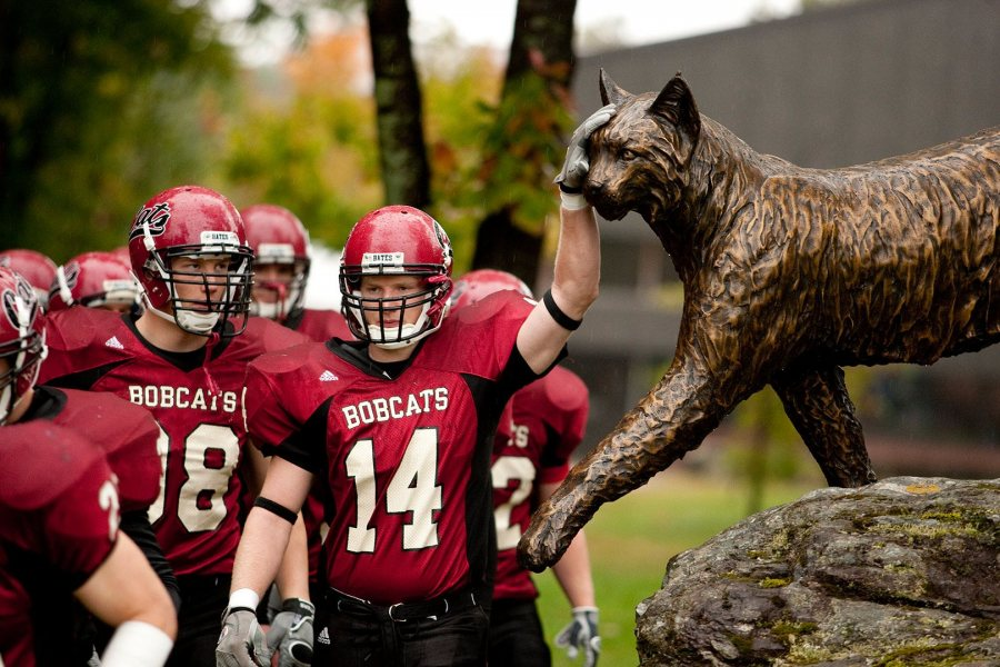 The football team takes on Tufts on Sept. 30. (Phyllis Graber Jensen/Bates College)