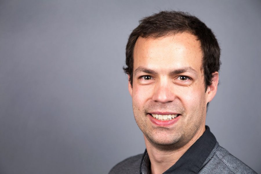 Luke Chicoine, assistant professor of economics, focuses on issues relating to healthcare and accumulation of human capital in Africa. (Theophil Syslo/Bates College)