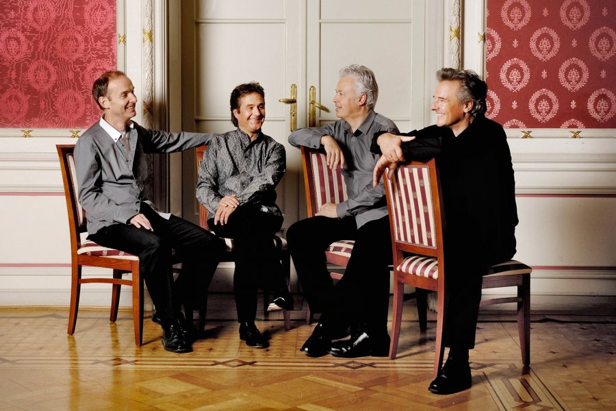 The Auryn Quartet returns to Bates on Oct. 14. (Manfred Esser)