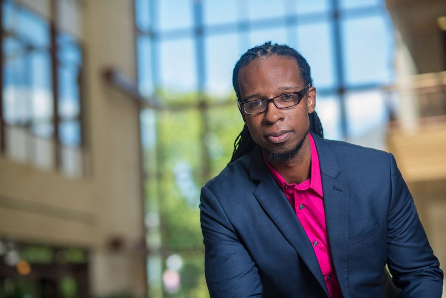 "Author Ibram Kendi offers a talk called ""How to Be an Antiracist"" on Oct. 24. (Jeff Watts/ American University)"