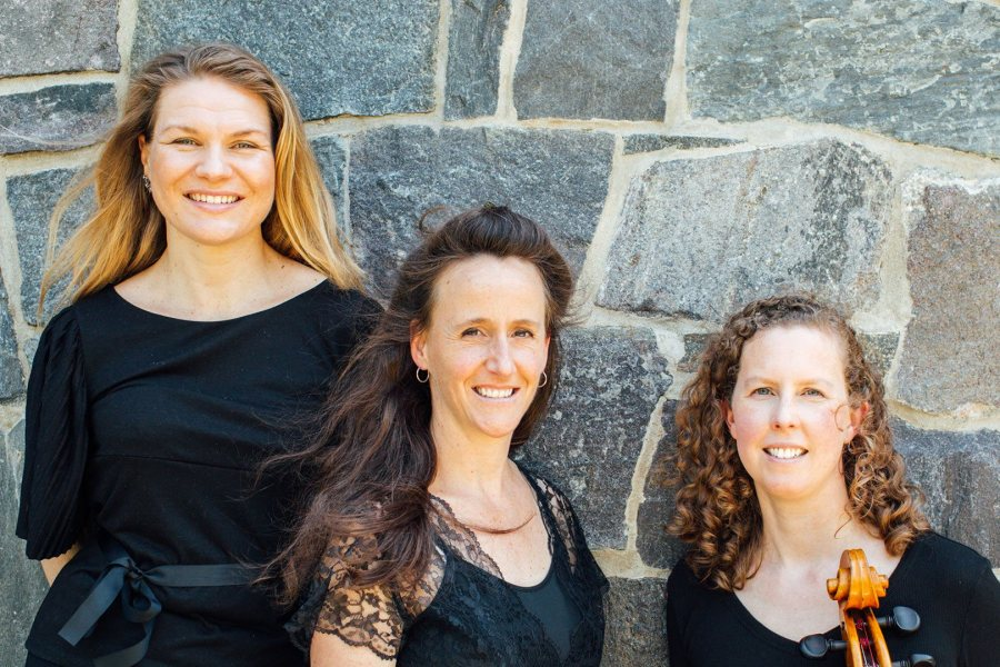 Maine musicians all, the Resinosa Ensemble performs on Oct. 6.