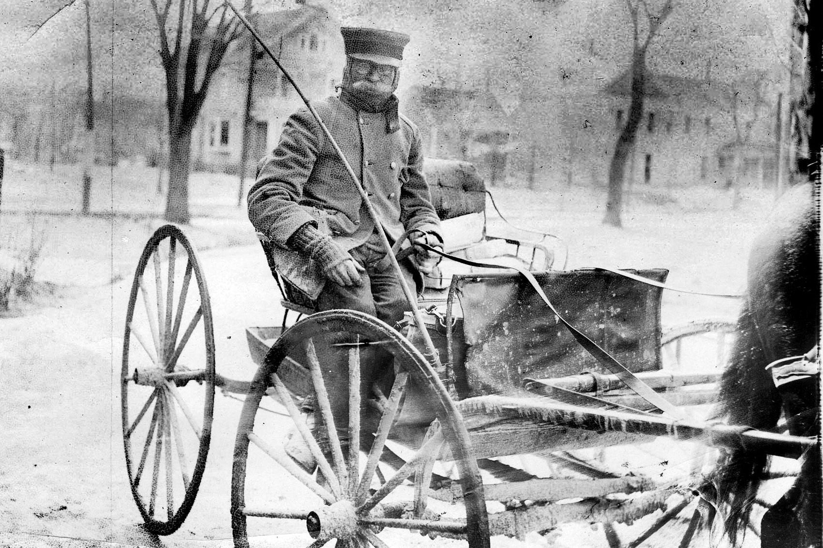 From The Archives Old Hockey Puck And Horse Drawn Mail