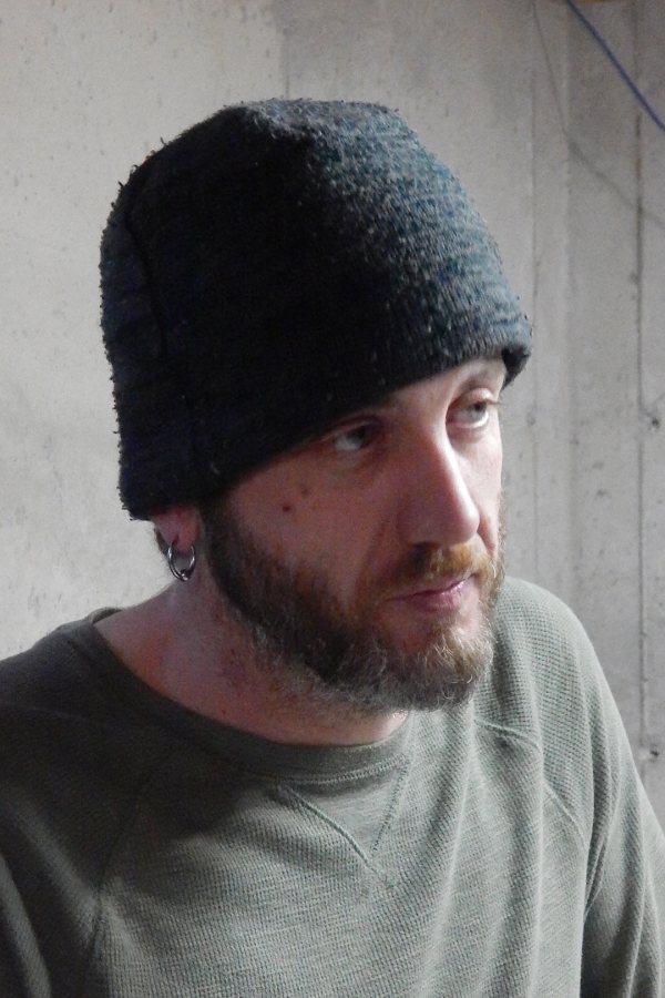 Nathaniel Croteau of Phoenix Studio. (Doug Hubley/Bates College)