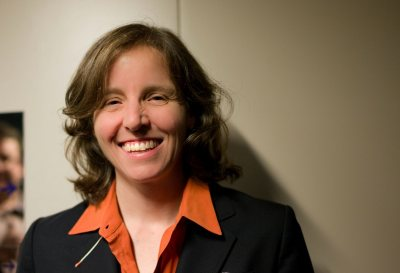 Megan Smith, CEO shift7, former Google executive, was 3rd U.S. chief technology officer, and is a visionary for tech innovation, education and inclusivity, will receive an honorary Doctor of Humane Letters degree. (Photograph by Joi Ito)