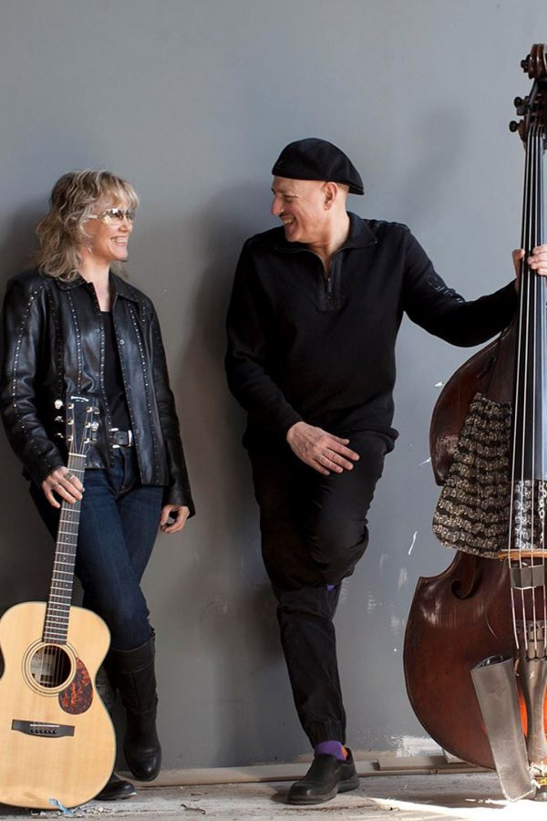 Performing May 10 at Bates, Plucky Strum is guitarist Sheryl Bailey and bassist Harvie S.