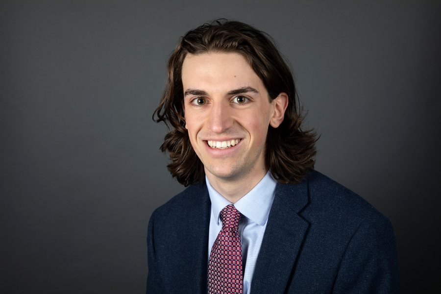 Zachary Anderson '19 of Rochester, N.Y., a sociology major, was offered a Fulbright English Teaching Assistant award for Malaysia. (Grace Link '19 for Bates College)