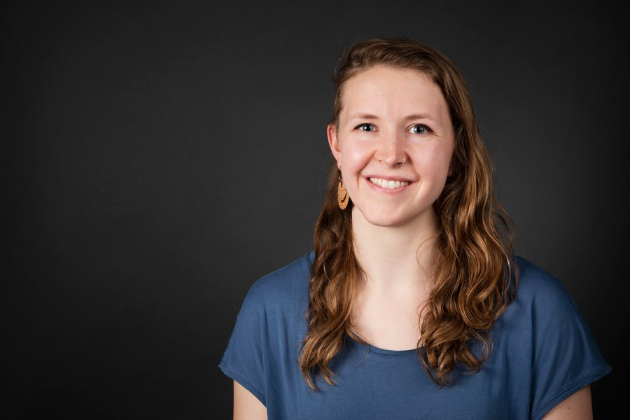 Kelsey Schober '16 of Anchorage, Alaska, a triple major in dance, politics, and psychology, was offered a Fulbright Student award. Matthew Bodwell '18 of Concord, N.H., a double major in German and politics, was offered an English Teaching Assistant award for Germany. (Theophil Syslo/Bates College)