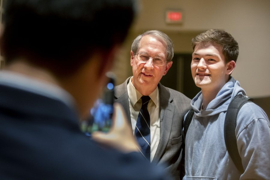 A Conversation with Congressman Bob Goodlatte Congressman Bob Goodlatte represented the sixth Congressional District of Virginia in the United States House of Representative from January 1993 to 2019. Congressman Goodlatte returns to Bates to engage in a conversation about how his liberal arts education helped shape who he is and how it prepared him for a career in politics. Congressman Goodlatte will also share his experience as Chair of the House Judiciary Committee, a position he held for six years, and provide perspective on the importance of bipartisan politics today. Tuesday, May 7th 7:30-9:00pm, Olin Concert Hall Facilitated by Frank Fusco '19 (College Republicans) and another student These events are sponsored by the Bates College Republican Club, The Center for Purposeful Work, and the Office of College Advancement.