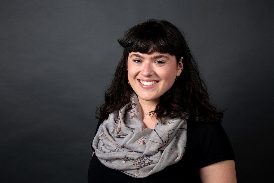 Sarah Freyd '19 of Edmonds, Wash., a French and francophone studies major, was offered a Fulbright English Teaching Assistant award for Senegal. (Grace Link '19 for Bates College)
