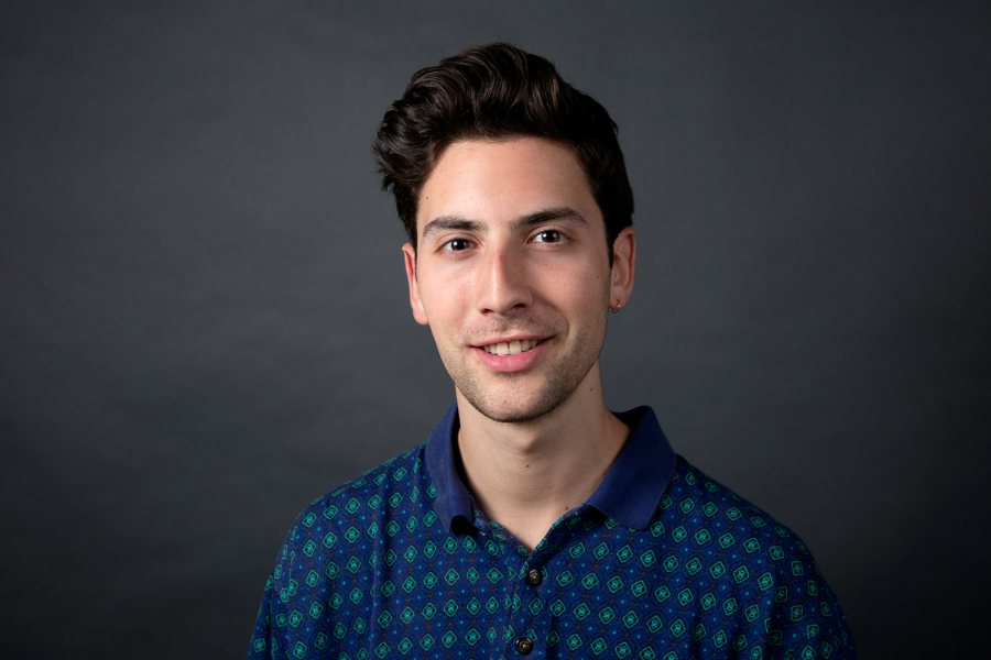 Joshua Klein '19 of Williston, Vt., an environmental studies major, was offered a Fulbright Open Study/Research award for Peru. (Grace Link '19 for Bates College)