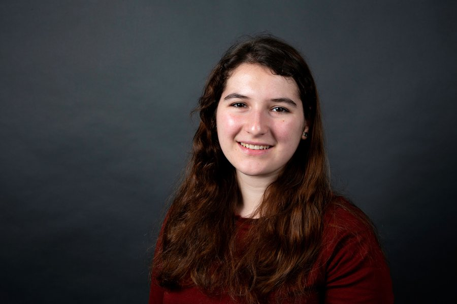 Katherine Ziegler '19 of Katonah, N.Y., a double major in German and classical and medieval studies, was offered a Fulbright English Teaching Assistant award for Germany. (Grace Link '19 for Bates College)