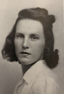 Dorothy Foster Kern '42, pictured in the 1942 Mirror yearbook (Muskie Archives & Special Collections)