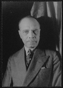 James Weldon Johnson, author of Autobiography of an Ex-Colored Man,