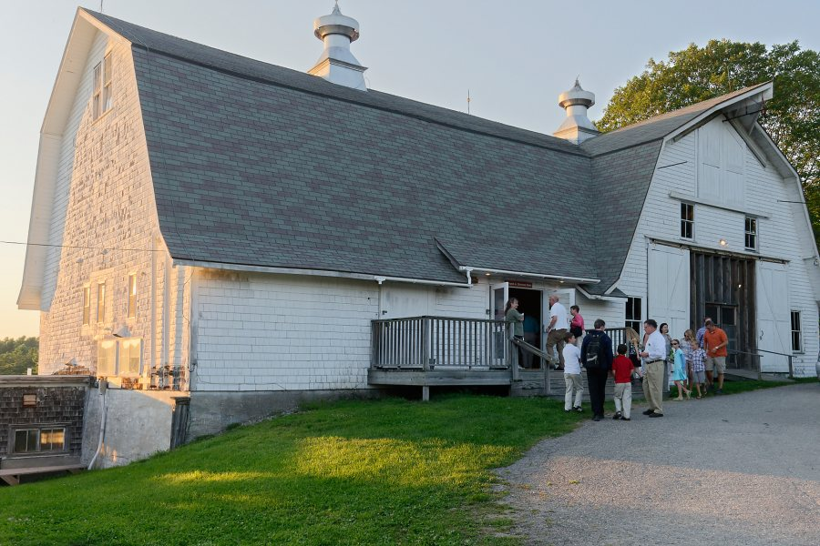 Most Salt Bay Chamberfest concerts take place in the Darrows Barn at Ropund Top Farm in Damariscotta, Maine. (Peter Felsenthal)