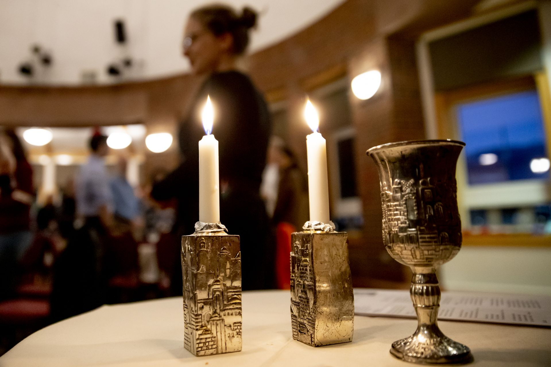 Back to Bates Weekend, Friday evening , Oct. 4, 2019, Shabbat Evening Service and Dinner, Mays Center, Jewish Student Union