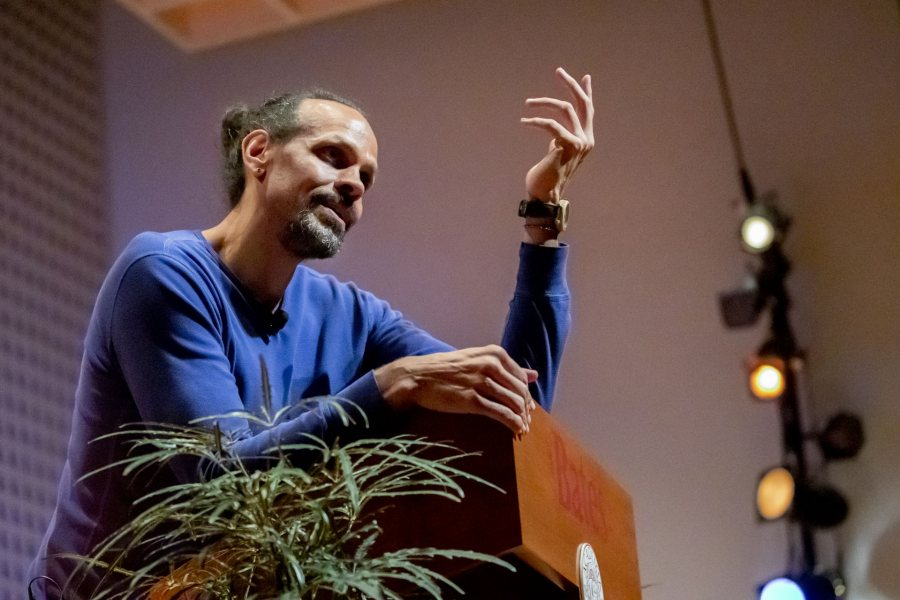 "he college's Philip J. Otis Committee invites members of the Bates community to attend:The 23rd Annual Otis LectureMonday, November 4, 7:30pmOlin Concert HallRESERVE TICKETSTickets free but required.Ross Gay, author of The Book of Delights, will deliver the 2019 lecture:""Delight, Gratitude, Joy: Entangle Me""Ross Gay is the author of three books of poetry: Against Which; Bringing the Shovel Down; and Catalog of Unabashed Gratitude, winner of the 2015 National Book Critics Circle Award and the 2016 Kingsley Tufts Poetry Award. His collection of essays, The Book of Delights, was released by Algonquin Books in 2019.Ross is also the co-author, with Aimee Nezhukumatathil, of the chapbook ""Lace and Pyrite: Letters from Two Gardens,"" in addition to being co-author, with Richard Wehrenberg, Jr., of the chapbook, ""River."" He is a founding editor, with Karissa Chen and Patrick Rosal, of the online sports magazine Some Call it Ballin', in addition to being an editor with the chapbook presses Q Avenue and Ledge Mule Press. Ross is a founding board member of the Bloomington Community Orchard, a non-profit, free-fruit-for-all food justice and joy project. He has received fellowships from Cave Canem, the Bread Loaf Writer's Conference, and the Guggenheim Foundation. Ross teaches at Indiana University.Gay's lecture is made possible by the Philip J. Otis '95 Endowment."