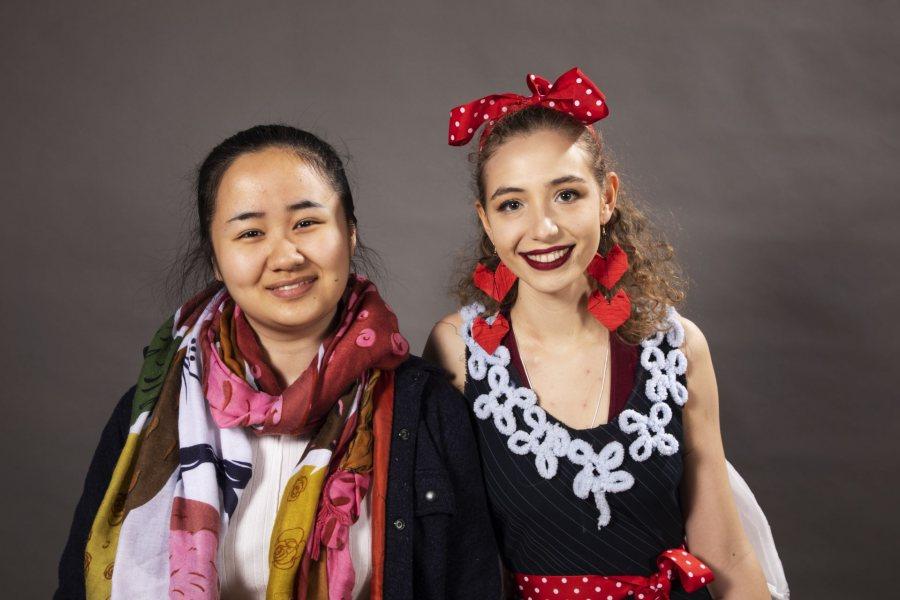 Jade Zhang '21 of Hefei, ChinaModel: Ilze Smidt '21 of Gibsonia, Pa.