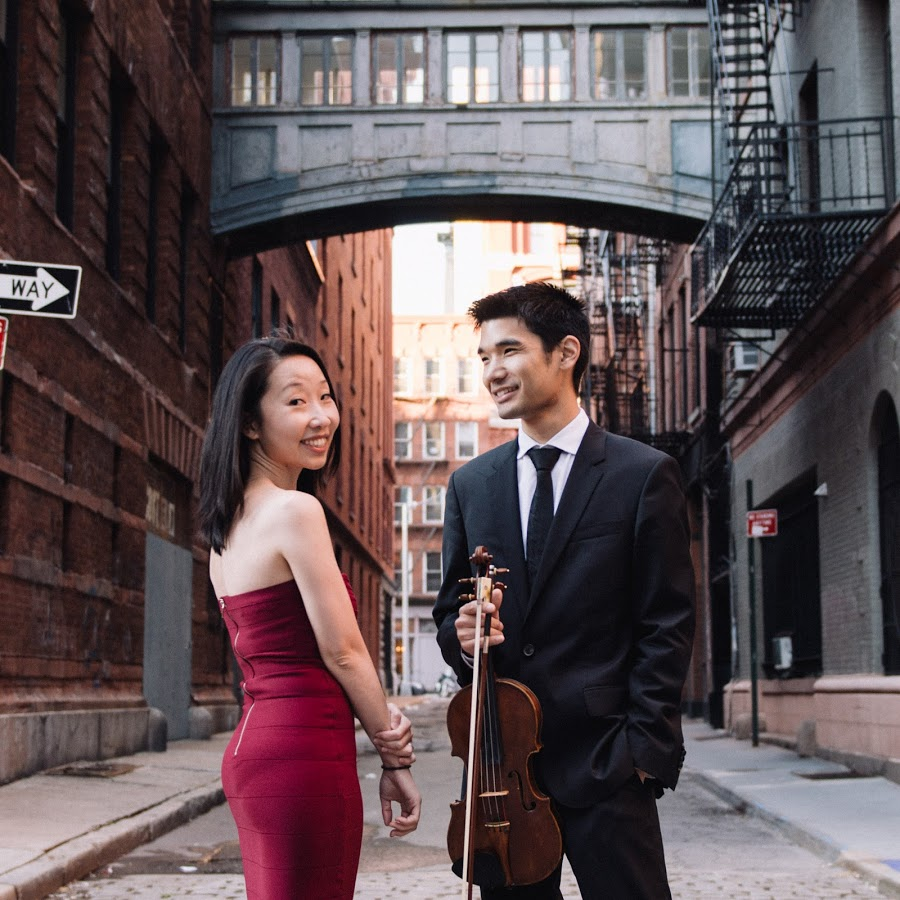 Pianist Nana Shi and violinist Alex Shiozaki perform on Feb. 27.