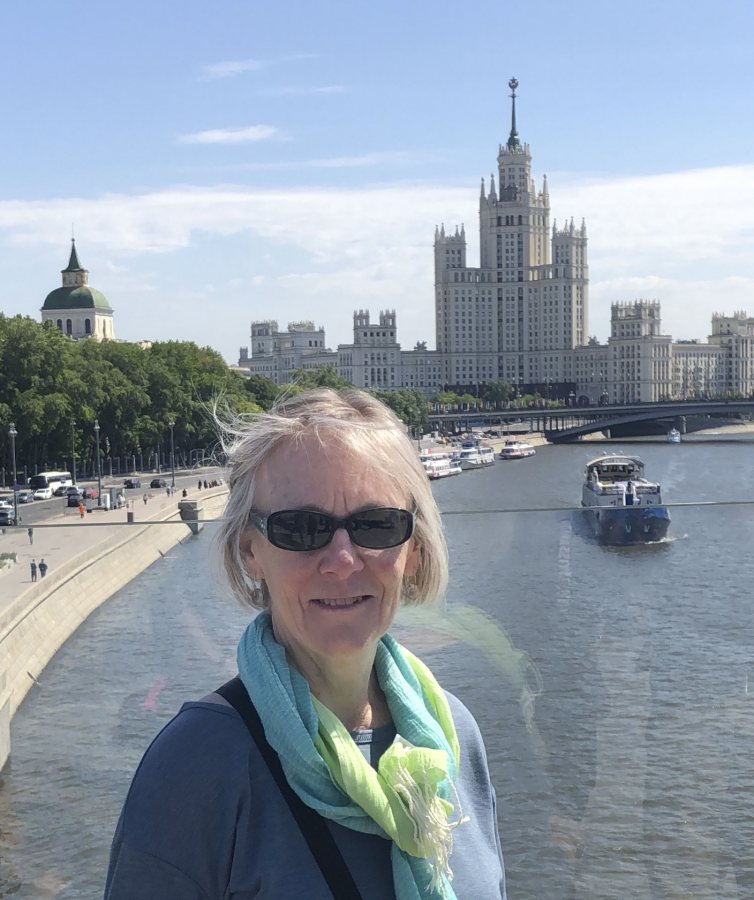 Jane Costlow, our professor in Moscow. (Courtesy of Jane Costlow)