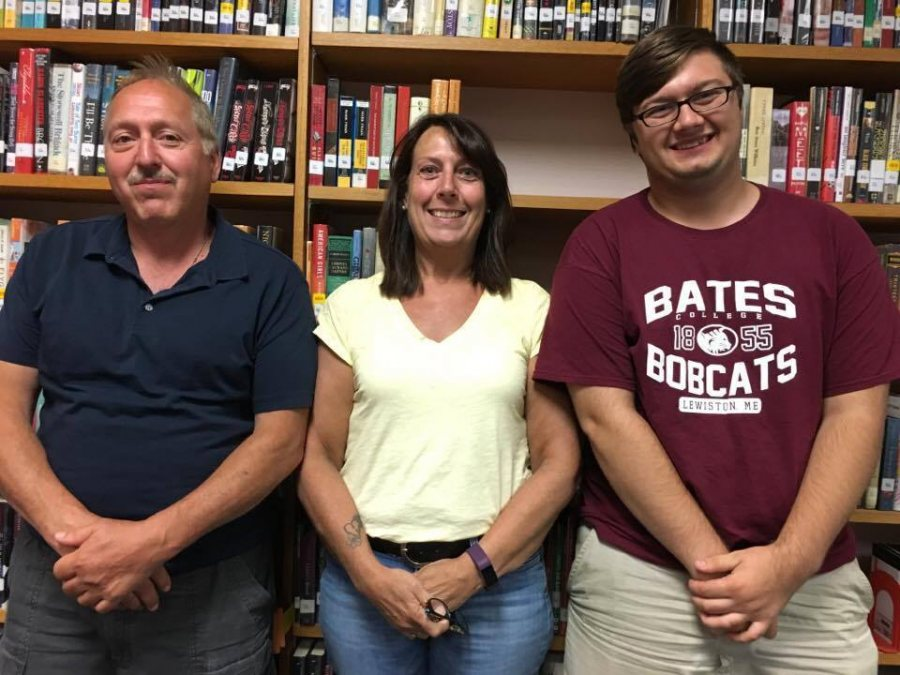 Regional School Unit 10 board directors elected in June are, left to right, Greg Buccina of Rumford, Janet Brennick of Mexico and Travis Palmer of Rumford.