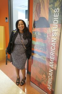 Cassandra Shepard, Visiting Assistant Professor of Africana. (Marshanda Smith)