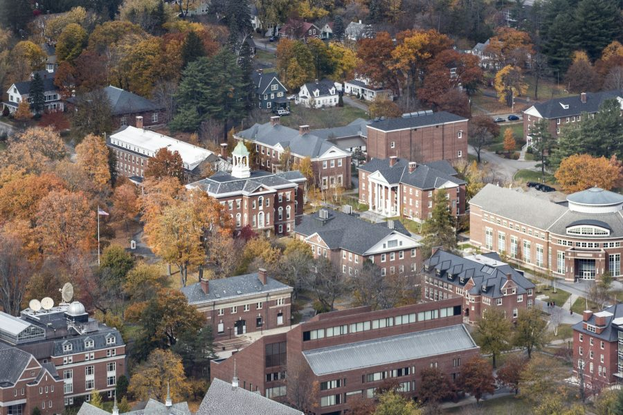 Views of campus and Androscoggin County on Sunday, November 1st 2015.
