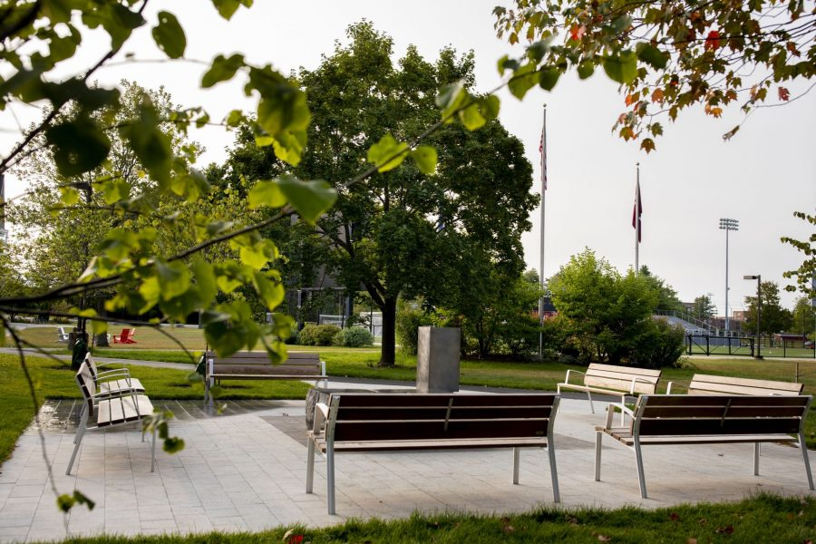 Campus scenes on Tuesday, Sept. 15, 2020.