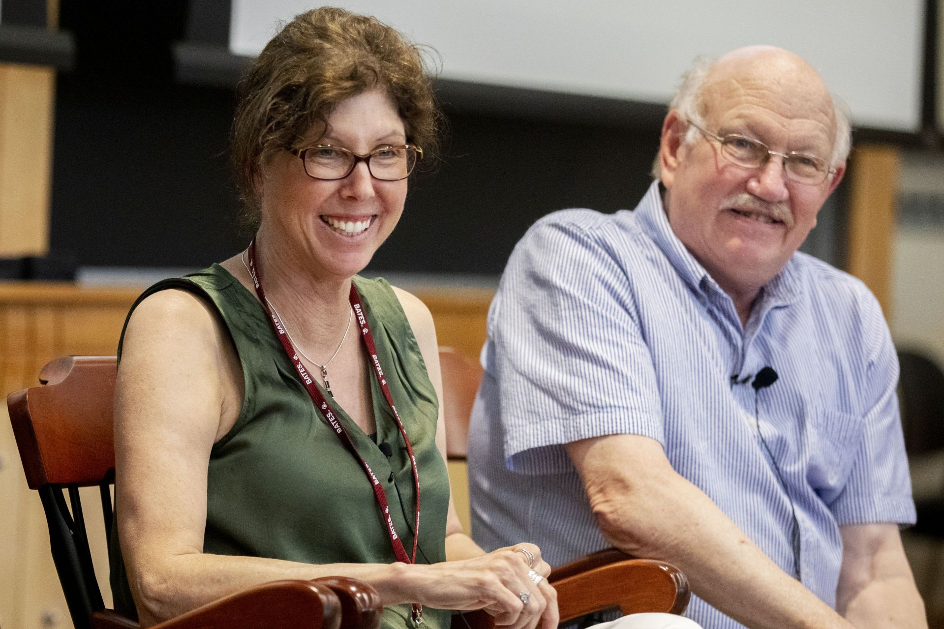 1:30–3pm50th Reunion Seminar: What's Behind the Headlines About Climate Change? Personal Reflections About the Fundamentals.Whether or not you believe that human endeavors are making a significant impact on our environment, it is clear that global temperatures are increasing. Christopher Bertelo '69 will join Professors Lynne Lewis, James Richter, and Carl Straub to discuss this timely topic—come with questions!Pettengill Hall, Keck Classroom (G52)