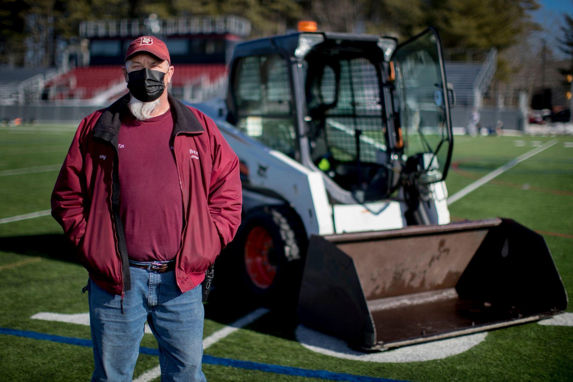 Tim Kivus on Garcelon Field