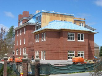 Roger Williams Hall addition