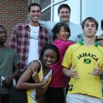 2012 Physics Summer Research students2