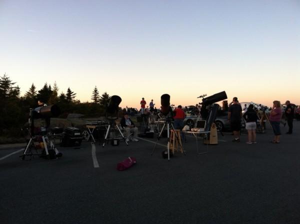 Acadia Night Sky Festival, Star Party on Cadillac Mountain