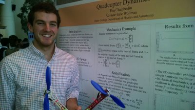 Timothy Chamberlin '16 Quadcopter Dynamics