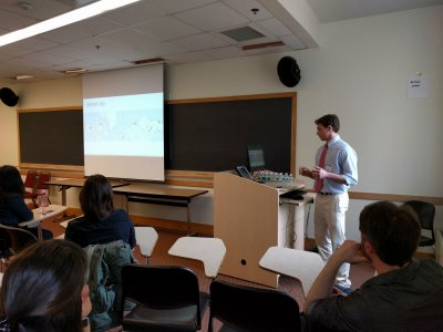 Wade Rosko '17 Modeling Freezing and Thawing of Arctic Permafrost